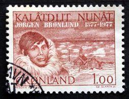 Greenland   1977 Jørgen Brønlund Cz.Slania. MiNr.104 ( Lot D 2821 ) - Greenland