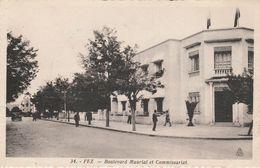 Maroc - FEZ - Boulevard Maurial Et Commissariat - Fez