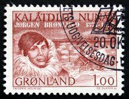 Greenland   1977 Jørgen Brønlund Cz.Slania. MiNr.104 ( Lot D 2824 ) - Greenland