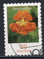 Allemagne Fédérale - Germany - Deutschland 2019 Y&T N°3255 - Michel N°3482 (o) - 80p Capucine - Autoadhésif - Used Stamps