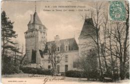 4KSD 450 CPA - LES TROIS MOUTIERS - CHATEAU DE TERNAY - Les Trois Moutiers