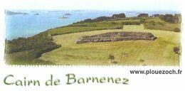 PLOUEZOC'H FINISTERE - CAIRN DE  BARNENEZ MONUMENT MEGALITHIQUE DU NEOLITHIQUE, DOLMENS , PAP ENTIER  POSTAL 2008 - Archeologia