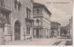 Italie - CUNEO - Via Carlo Emanuele III - Cuneo