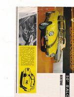 Feuillet De Magazine Berton Racer - Cars