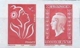 France - 2005  - Marianne De Dulac- N° P3841  - Adhésif N° P66 -  Neufs ** - MNH - Adhésifs (autocollants)