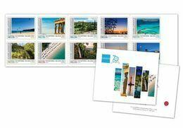 GREECE STAMPS 2020/GREEK TOURISM ORGANIZATION No2-MNH-SELF ADHESIVE-BOOKLET-13/7/20(1250pcs Only!!)-VERY RARE!! - Grèce