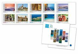 GREECE STAMPS 2020/GREEK TOURISM ORGANIZATION No1-MNH-SELF ADHESIVE-BOOKLET-13/7/20(1250pcs Only!!)-VERY RARE!! - Grèce