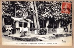X92144 SAINT-CLOUD Hauts-Seine Artistique Parc Chalet 24 Jets 21-08-1908 à GIRAUD Avenue Gambetta FLEURY 223 - Saint Cloud
