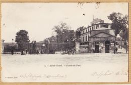 X92159 SAINT CLOUD St (92) Poste De Police Et Buvette A La Civette Entrée Du Parc 1903 à OSWALD-DUCROS Paris-MARMUSE 5 - Saint Cloud