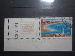VEND BEAU TIMBRE DE FRANCE N° 1502 + BDF + CD !!! - France