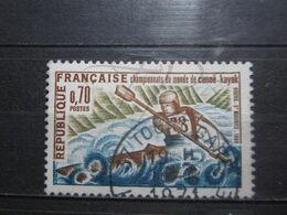 """VEND BEAU TIMBRE DE FRANCE N° 1609 , OBLITERATION """" TOURS-GARE """" !!! - France"""