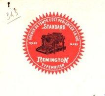 REMINGTON   TYPEWRITER   Machines à Ecrire       1908 - Bills Of Exchange