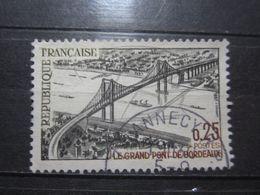 """VEND BEAU TIMBRE DE FRANCE N° 1524 , OBLITERATION """" ANNECY """" !!! - France"""