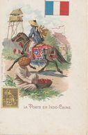 La Poste En Indochine - Timbres (représentations)