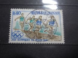 """VEND BEAU TIMBRE DE FRANCE N° 1573 , OBLITERATION """" PARIS - AV. GENERALE LECLERC """" !!! - France"""