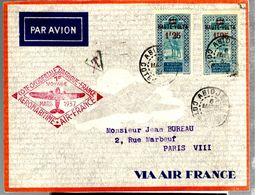 35598 - Vol ABIDJAN PARIS - Upper Volta (1920-1932)