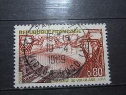 """VEND BEAU TIMBRE DE FRANCE N° 1583 , OBLITERATION """" PARIS - PL. VICTOR HUGO """" !!! - France"""