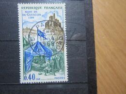 """VEND BEAU TIMBRE DE FRANCE N° 1578 , OBLITERATION """" PARIS - GARE DU NORD """" !!! - France"""