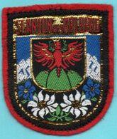 Autres Collections > Ecusson Tissu St Anton Am Arlberg - Blazoenen (textiel)