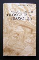 Lithuanian Book / Pasakojimai Apie Filosofus Ir Filosofiją Ozolas 1988 - Libros, Revistas, Cómics
