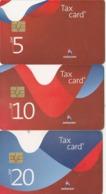 Switzerland, CP-193 - 195, Set Of 3 Cards, Corporate Design II, 2 Scans. - Svizzera