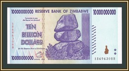 Zimbabwe 10000000000 Dollars 2008 P-85 (85a) UNC - Zimbabwe