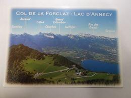 MONTMIN    Col De La Forclaz  Montagne Les Bauges - Other Municipalities
