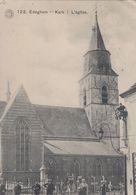 EDEGEM / DE KERK / KERKHOF / ANIMATIE 1913 - Edegem
