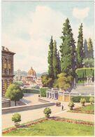 Italie : Toscana : FIRENZE - FLORENCE : Giardino Boboli - Le Jardin Boboli : Illustrateur - G. GROSSI - - Firenze (Florence)
