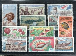 PETIT LOT POUR DEBUTANT - TOUS OBLITERES - YVERT 38.60 EUROS - - French Somali Coast (1894-1967)