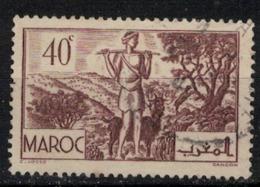 MAROC        N°  YVERT :  171   ( 1 ) OBLITERE       (OB 8 / 21 ) - Morocco (1891-1956)
