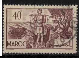 MAROC        N°  YVERT :  171   ( 2 ) OBLITERE       (OB 8 / 21 ) - Morocco (1891-1956)