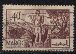 MAROC        N°  YVERT :  171   ( 3 ) OBLITERE       (OB 8 / 21 ) - Morocco (1891-1956)