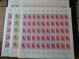 France N°1543/548 - Jeux Olympiques Grenoble 1968 - 5 Feuilles De 50 Exemplaires - Neuf ** Sans Charnière - TB - Neufs