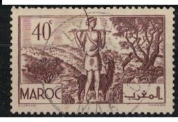 MAROC        N°  YVERT :  171   ( 4 ) OBLITERE       (OB 8 / 21 ) - Morocco (1891-1956)