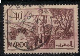 MAROC        N°  YVERT :  171   ( 5 ) OBLITERE       (OB 8 / 21 ) - Morocco (1891-1956)