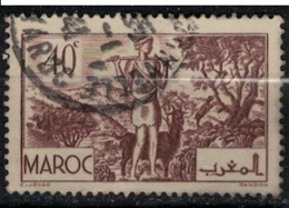 MAROC        N°  YVERT :  171   ( 6 ) OBLITERE       (OB 8 / 21 ) - Morocco (1891-1956)