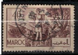 MAROC        N°  YVERT :  171   ( 7 ) OBLITERE       (OB 8 / 21 ) - Morocco (1891-1956)