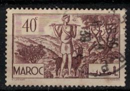 MAROC        N°  YVERT :  171   ( 8 ) OBLITERE       (OB 8 / 22 ) - Morocco (1891-1956)