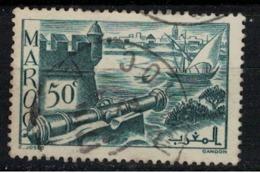 MAROC        N°  YVERT :  174 ( 5 )     OBLITERE       (OB 8 / 22 ) - Morocco (1891-1956)
