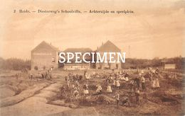 2 Diesterweg's Schoolvilla - Achterzijde En Speelplein - Heide - Kalmthout