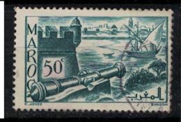 MAROC        N°  YVERT :  174 ( 6 )     OBLITERE       (OB 8 / 22 ) - Morocco (1891-1956)
