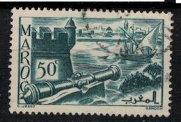 MAROC        N°  YVERT :  174 ( 7 )     OBLITERE       (OB 8 / 22 ) - Morocco (1891-1956)