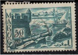 MAROC        N°  YVERT :  174 ( 8 )     OBLITERE       (OB 8 / 22 ) - Morocco (1891-1956)