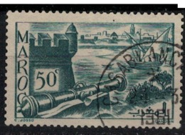 MAROC        N°  YVERT :  174 ( 9 )     OBLITERE       (OB 8 / 22 ) - Morocco (1891-1956)