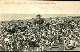 CEYLAN - Carte Postale - Hindoo Vale Festival - Showing The Silver Juggernaut Car  - L 66661 - Sri Lanka (Ceylon)