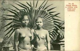 CEYLAN - Carte Postale - Jeunes Femmes Avec Ombrelle - L 66662 - Sri Lanka (Ceylon)