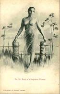 CEYLAN - Carte Postale - Jeune Femme Nue  - L 66664 - Sri Lanka (Ceylon)