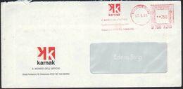 San Marino EMA Meter Chiesanuova 1995 Karnak Il Mondo Dell'Ufficio Office Supplies Fournitures De Bureau AMR00009 - San Marino