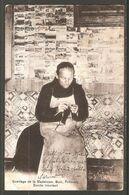Carte P De 1918 ( Fribourg / Ermitage De La Madeleine .Guin / Ermite Tricotant ) - FR Fribourg